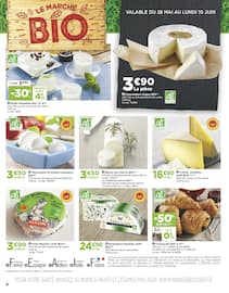 Catalogue Casino Supermarchés en cours, Sélection BIO, Page 4