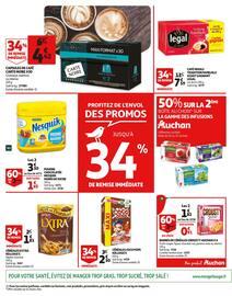 Catalogue Auchan en cours, L'escalope de veau à la crème responsable de Pierre., Page 52
