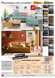 Catalogue But en cours, Inspirez-vous à petits prix : spécial salon et literie, Page 6