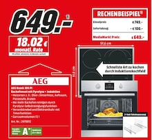 Elektronik von AEG im aktuellen Media-Markt Prospekt für 649€