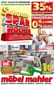 Möbel Mahler Siebenlehn - Sommer-Spar-Wochen