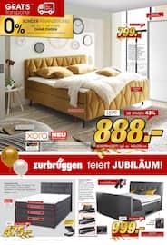 Aktueller Zurbrüggen Prospekt, Zurbrüggen feiert JUBILÄUM! , Seite 4