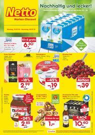 Aktueller Netto Marken-Discount Prospekt, Nachhaltig und lecker!, Seite 1