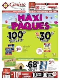 Catalogue Casino Supermarchés en cours, Maxi Pâques, Page 44