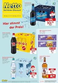 Aktueller Netto Getränke-Markt Prospekt, Hier stimmt der Preis, Seite 1