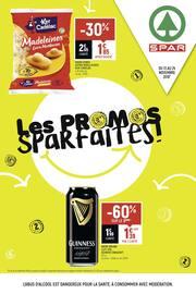 Catalogue Spar en cours, Les promos Sparfaites !, Page 1