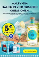 Aktueller Malfy Gin Prospekt, Italien in vier frischen Variationen, Seite 1