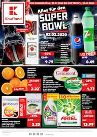 Aktueller Kaufland Prospekt, Alles für den SUPER BOWL, Seite 1