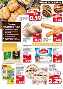 Brot im Kaufland Prospekt KÖNIGLICHE ANGEBOTE: HIER SPART JEDER! auf S. 18
