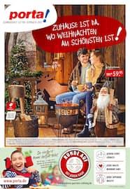 Aktueller porta Möbel Prospekt, Zuhause ist da, wo Weihnachten am schönsten ist!, Seite 1