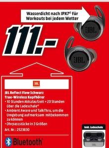 Elektronik von JBL im aktuellen Media-Markt Prospekt für 111€