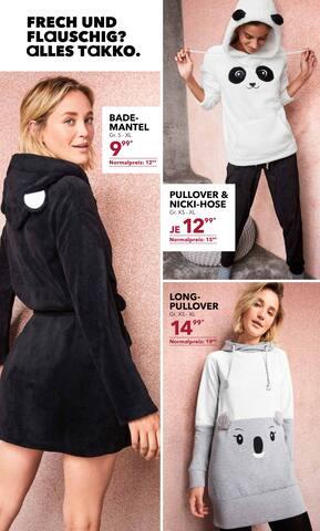 Aktueller Takko Fashion Prospekt, DIE ENTSPANNUNG STEIGT? aLLEs TaKKO, Seite 2