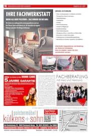 Aktueller külkens+sohn Polstermöbel Prospekt, NEWS & TRENDS, Seite 16