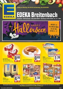 EDEKA Prospekt für Partenstein im Spessart: Wir lieben Lebensmittel!, 24 Seiten, 24.10.2021 - 30.10.2021
