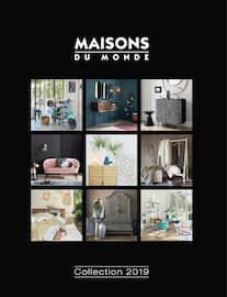 Catalogue Maisons du Monde en cours, Chez vous, c'est ailleurs !, Page 1