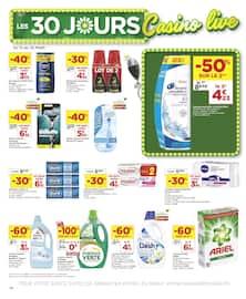 Catalogue Casino Supermarchés en cours, Les 30 jours Casino live, Page 14