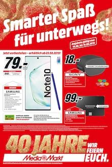 Media-Markt, SMARTER SPASS FÜR UNTERWEGS! für Stuttgart