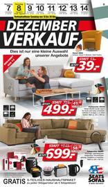 Aktueller Seats and Sofas Prospekt, Dezember-Verkauf, Seite 1