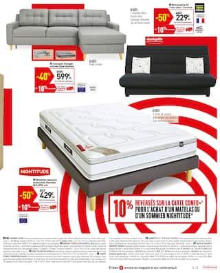 Catalogue Conforama en cours, Confochoc ! Onde de choc sur les prix !, Page 5