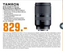 Multimedia von Tamron im aktuellen Saturn Prospekt für 829€