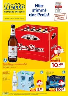 Netto Getränke-Markt, HIER STIMMT DER PREIS! für Düsseldorf