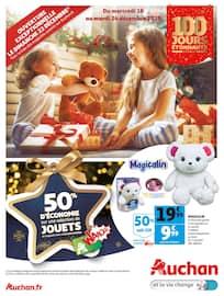 Catalogue Auchan en cours, 50% d'économie sur une sélection de jouets, Page 1