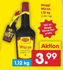 Lebensmittel von Maggi im aktuellen Netto Marken-Discount Prospekt für 3.99€