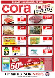 Catalogue Cora en cours, Solutions pouvoir d'achat, Page 1