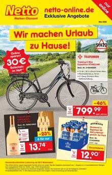 Netto Marken-Discount Prospekt Wir machen Urlaub zu Hause!