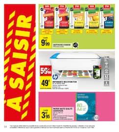 Catalogue Carrefour Market en cours, Maintenant et moins cher !, Page 54