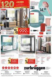 Aktueller Zurbrüggen Prospekt, Unsere Küchenbestseller zu Jubiläumspreisen, Seite 8