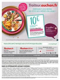 Catalogue Auchan en cours, Nos collaborateurs sont toujours mobilisés pour vous, Page 61