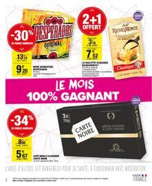 Catalogue Carrefour Market en cours, Le mois 100% gagnant, Page 2