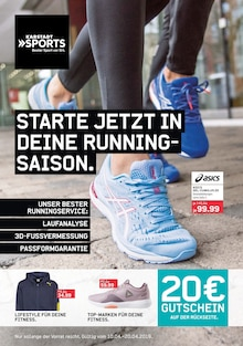 Karstadt Sports - Starte jetzt in deine Running-Saison