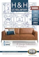 Catalogue H&H en cours, Les Hollan'Days, Page 1
