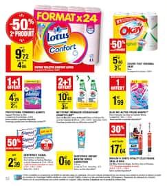 Catalogue Carrefour Market en cours, Maintenant et moins cher !, Page 52