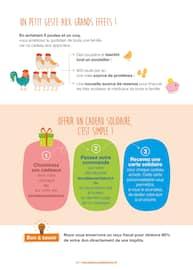 Catalogue Vision Du Monde en cours, Des cadeaux originaux qui changent la vie !, Page 3