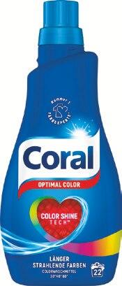 Waschmittel von Coral im aktuellen Rossmann Prospekt für 2.89€
