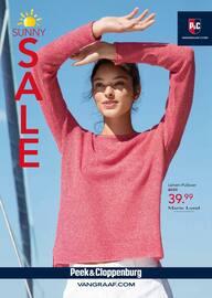 Aktueller Peek&Cloppenburg Prospekt, Sunny Sale!, Seite 1