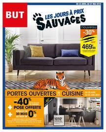 Catalogue But en cours, Les jours à prix sauvages, Page 1