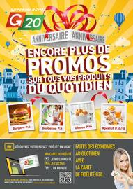Catalogue G20 en cours, Encore plus de promos sur tous vos produits du quotidien, Page 2