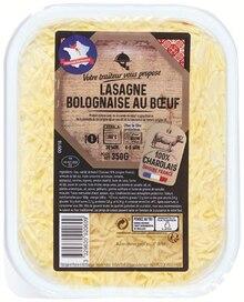Lasagnes  Bolognaise au Bœuf à Colruyt dans Chaussan