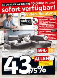 Aktueller XXXLutz Möbelhäuser Prospekt, Bei uns mit Click & Collect: 10.000e Artikel sofort verfügbar!, Seite 1