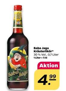 Alkoholische Getraenke von Baba Jaga im aktuellen NETTO mit dem Scottie Prospekt für 4.99€