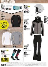 Catalogue Go Sport en cours, Objectif Noël, Page 2