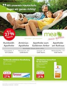 Der aktuelle Mea - meine apotheke Prospekt Unsere August-Angebote