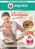 Catalogue U Express en cours, Faites des économies de saison, Page 1