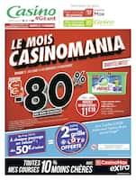 Catalogue Géant Casino en cours, Le mois Casinomania, Page 1