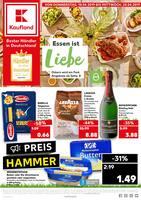 Aktueller Kaufland Prospekt, Essen ist Liebe, Seite 1