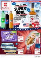 Aktueller Kaufland Prospekt, Alles für den SUPER BOWL am 07.02.2021, Seite 1